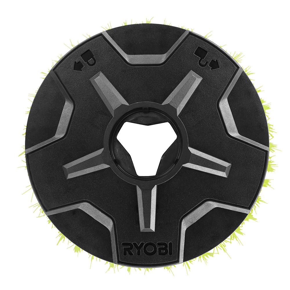 RYOBI 6 in. Medium Bristle Brush Accessory for RYOBI P4500 and P4510 Scrubber Tools