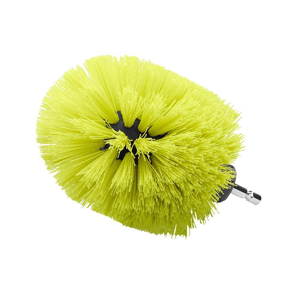 RYOBI Medium Bristle Brush Multi-Purpose Cleaning Kit (2-Piece)