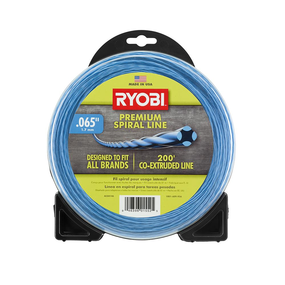 RYOBI .065 In. X 200 Ft. Spiral Co-Extruded Trimmer Line