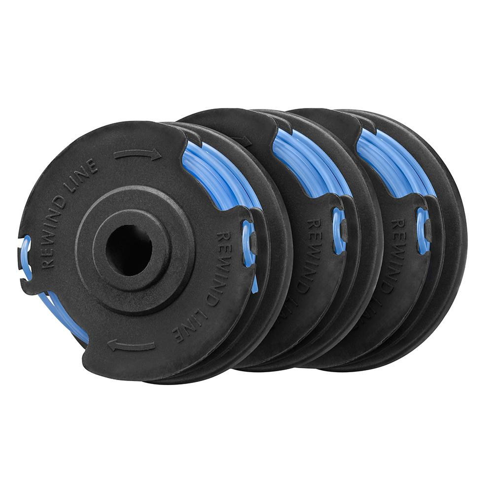 HOMELITE Electric String Trimmer .065 In. Replacement Spool 3-Pack