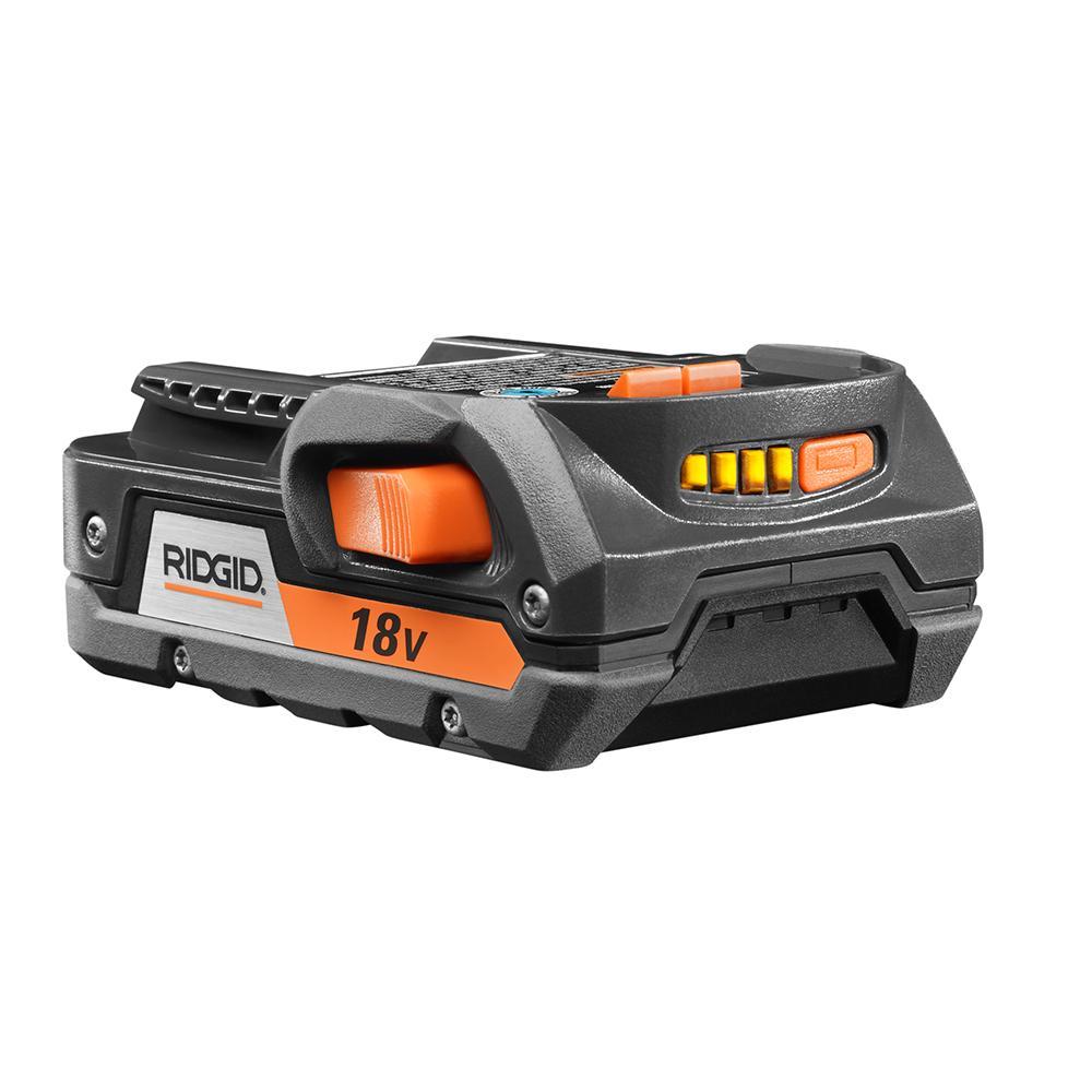 RIDGID 18 Volt HYPER Lithium-Ion 2.0 Ah Battery Pack