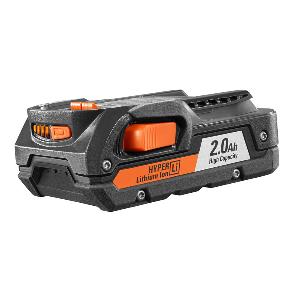 RIDGID 18 Volt Lithium-Ion 2 Amp Battery