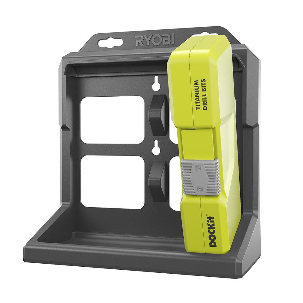 RYOBI DOCKit 56 Piece Drilling and Driving Kit with Storage Tray