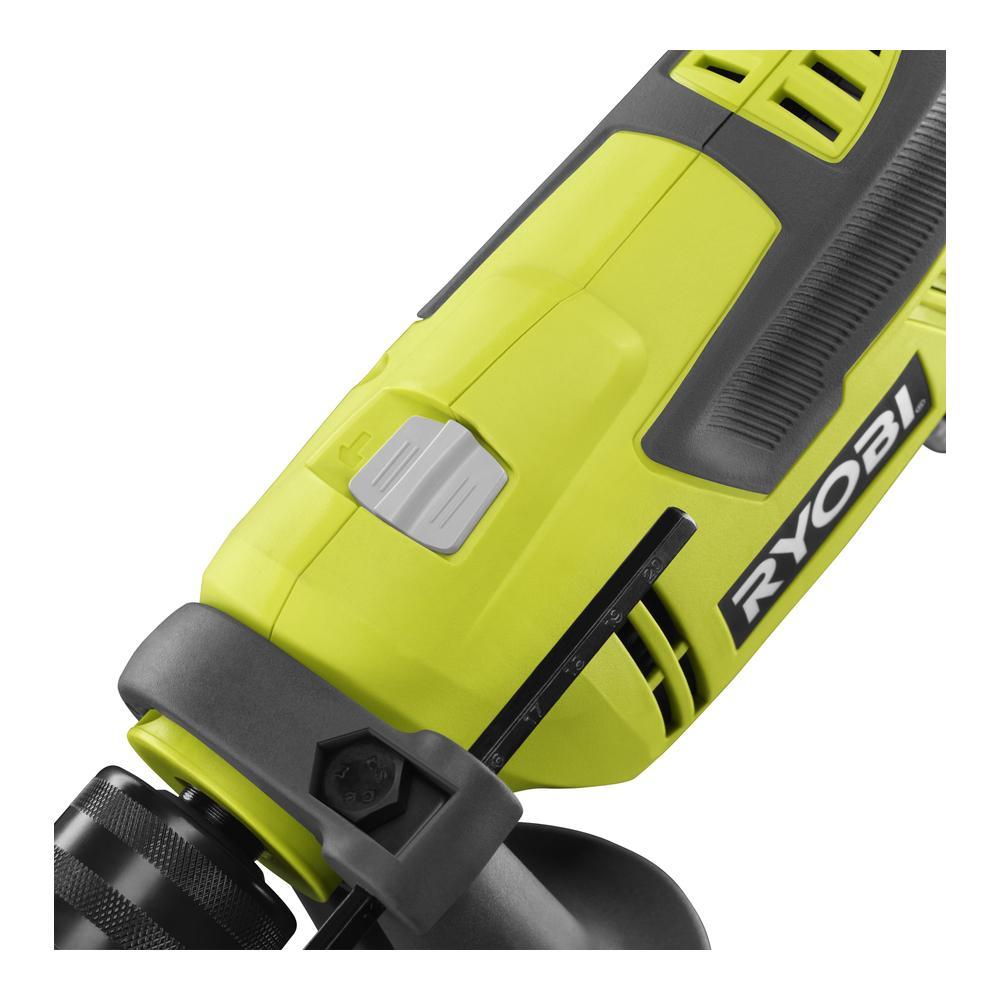 RYOBI 6.2 AMP Hammer Drill with Bag