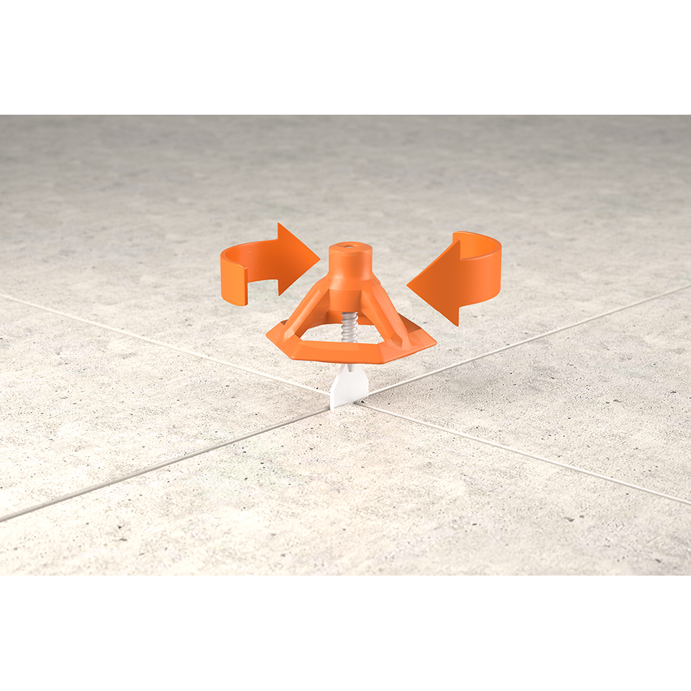 RIDGID LevelMax Anti-Lippage and Spacing System Flat Stem 100-Pack (Part B)