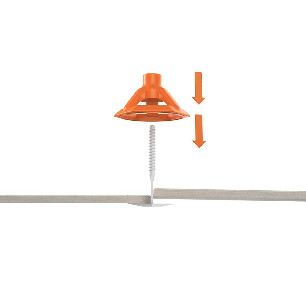 RIDGID LevelMax Anti-Lippage and Spacing System 100-Pieces of Tops (Part-A)