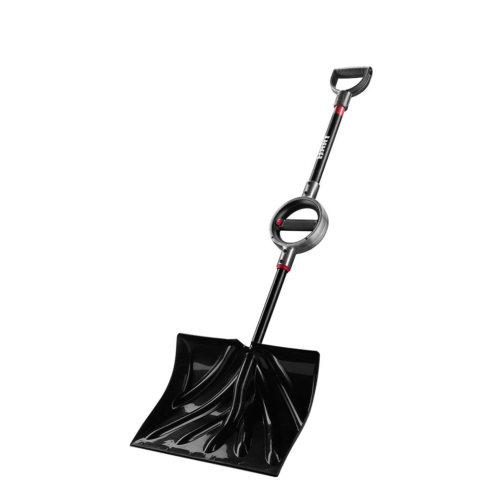 HART 18 In. Combo Snow Shovel with 360-Degree Grip Rotating Handle