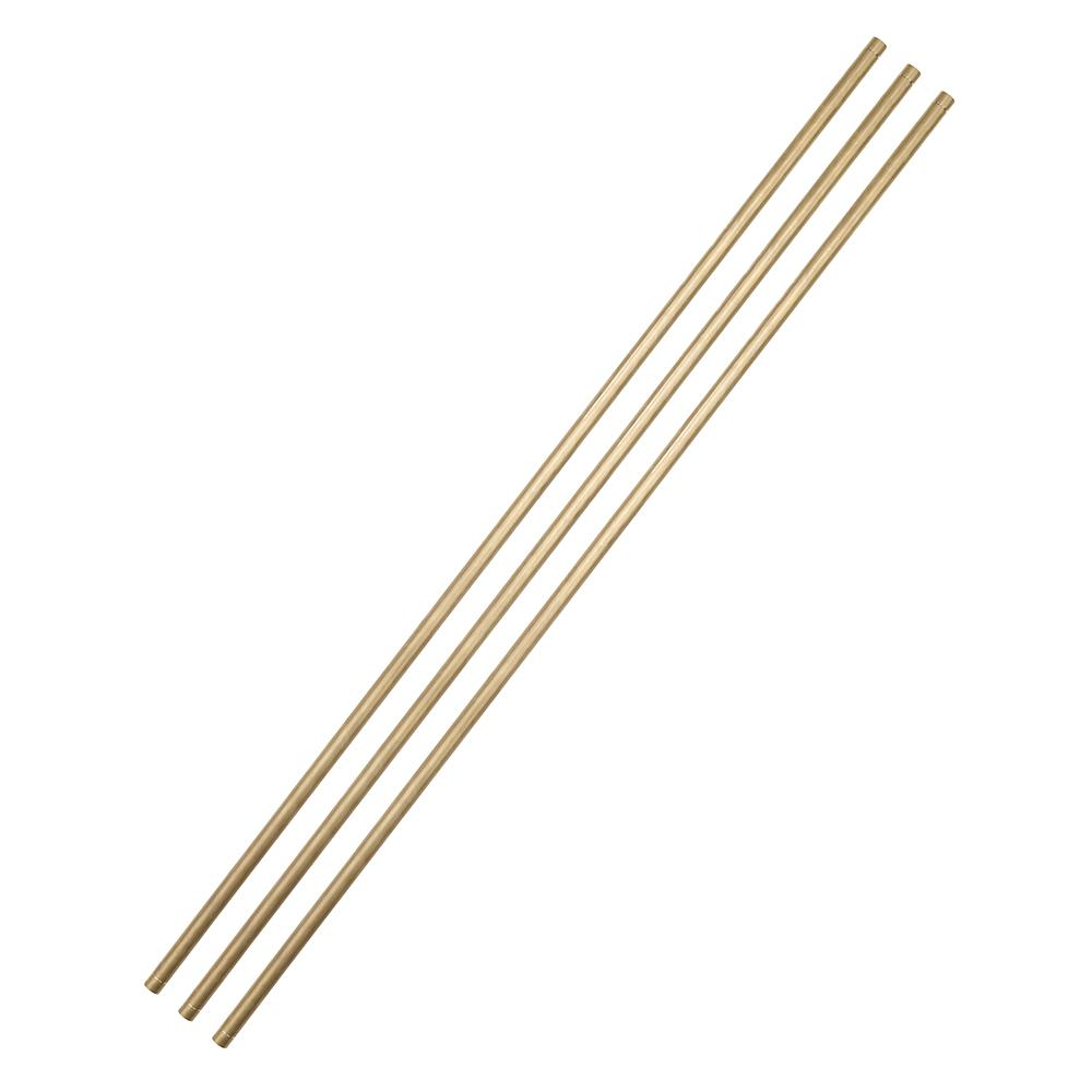 ARCTIC COVE 24 In. Brass Tubing 3-Pack