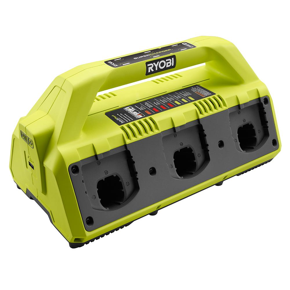 RYOBI ONE+ 6 Port Battery Supercharger