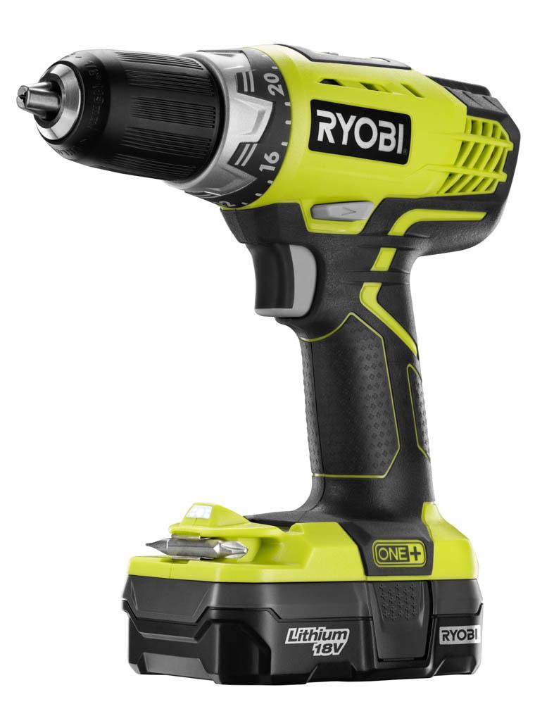 RYOBI 18 Volt ONE+ Compact Drill/Driver Kit