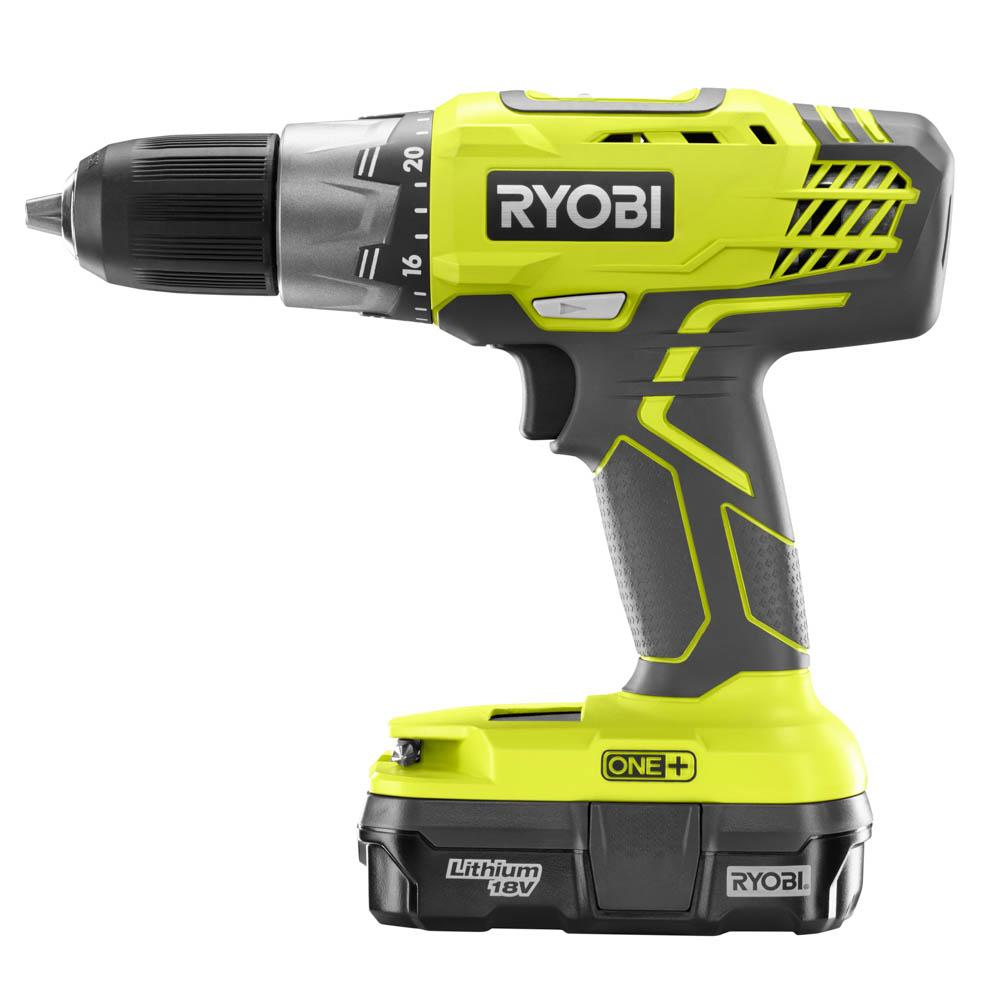 RYOBI ONE+ 18 Volt Drill/Driver and Impact Driver Kit