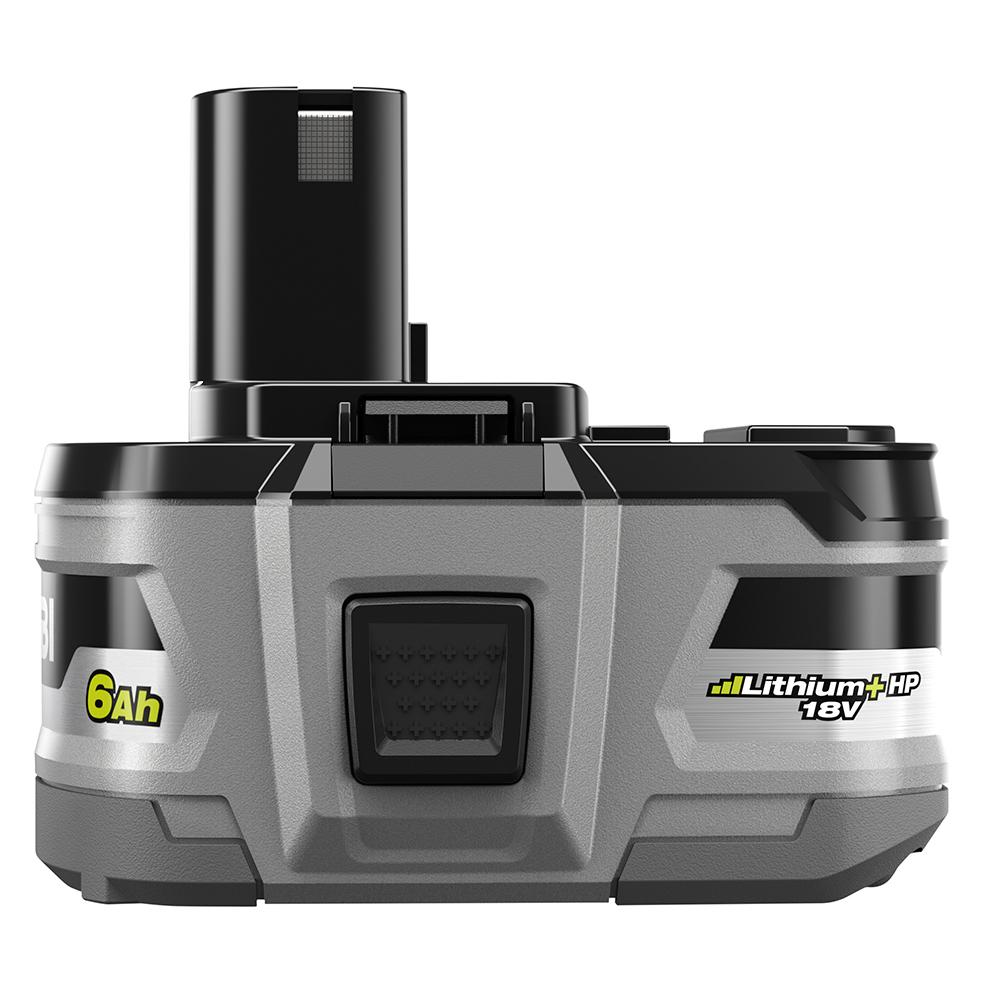 RYOBI ONE+ 18 Volt Lithium+ HP 6.0 Ah High Capacity Battery