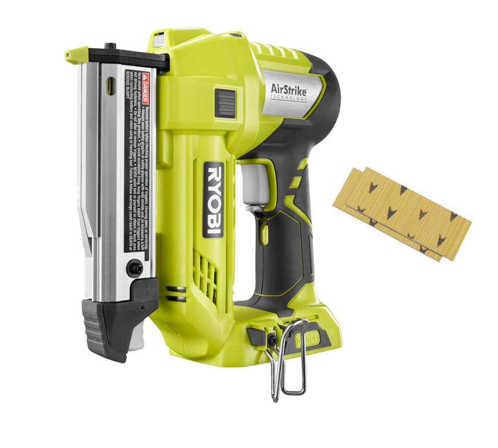 RYOBI ONE+ 18 Volt AirStrike 23-Gauge 1-3/8 In. Headless Pin Nailer