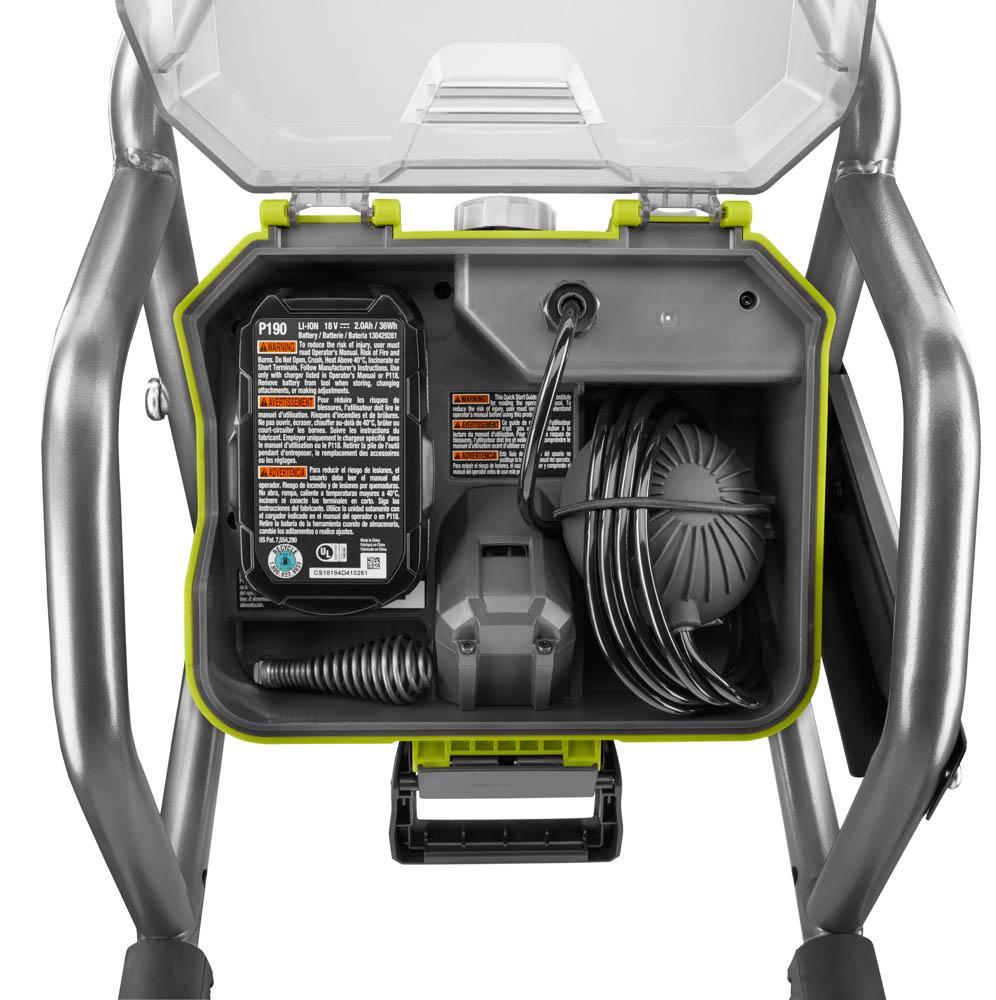 RYOBI ONE+ 18 Volt Hybrid Drain Auger Kit