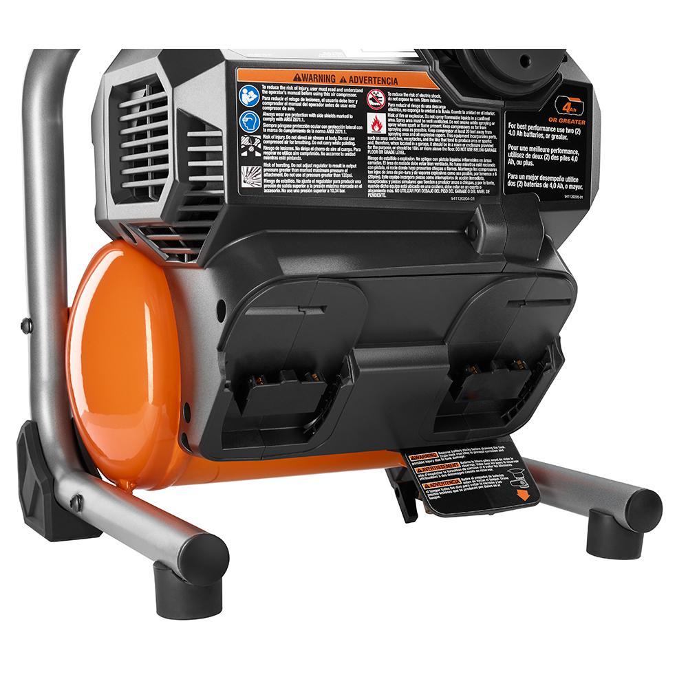 Ridgid 18 Volt Brushless 1 Gallon Portable Air Compressor Ridgid Brands Directtoolsoutlet Site