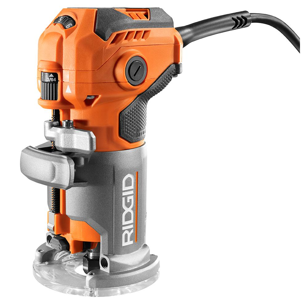 RIDGID 5.5 Amp Corded Compact Router
