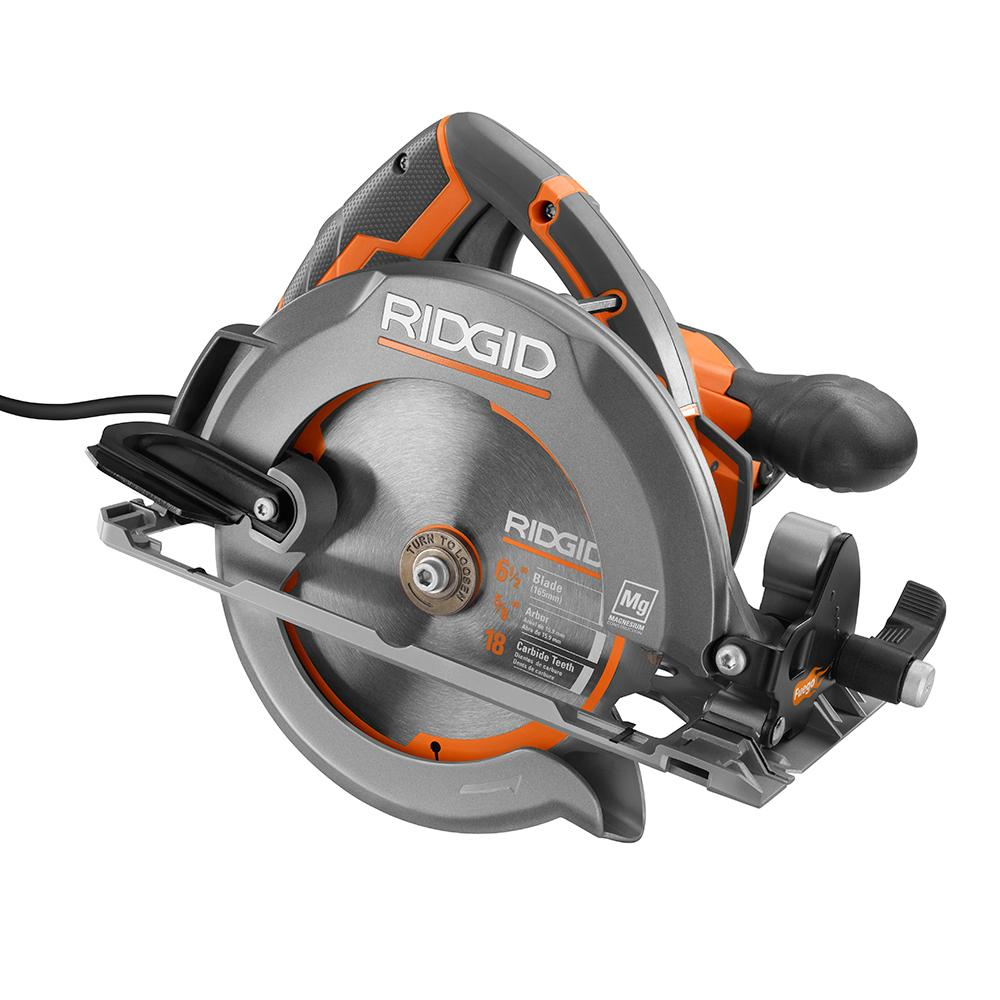 RIDGID Fuego 12 Amp 6-1/2 In. Compact Framing Circular Saw