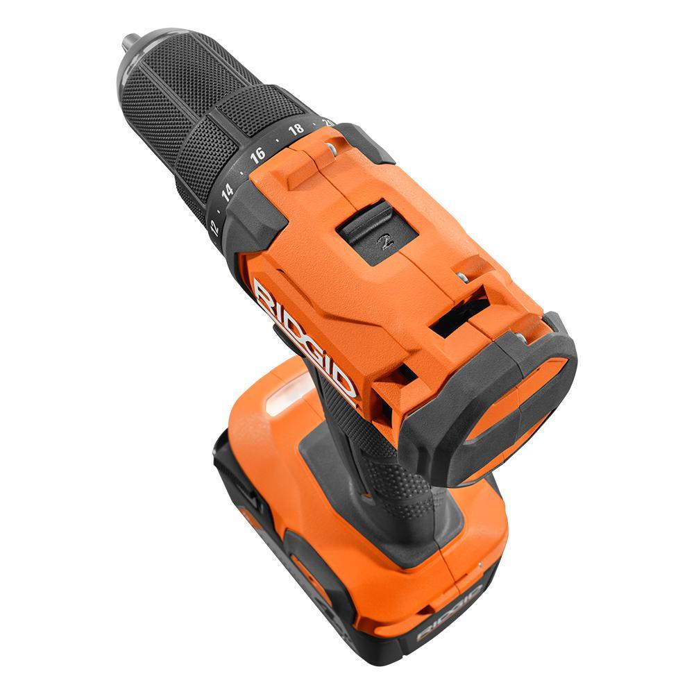 RIDGID 18 Volt Cordless 1/2 In. Drill/Driver Kit