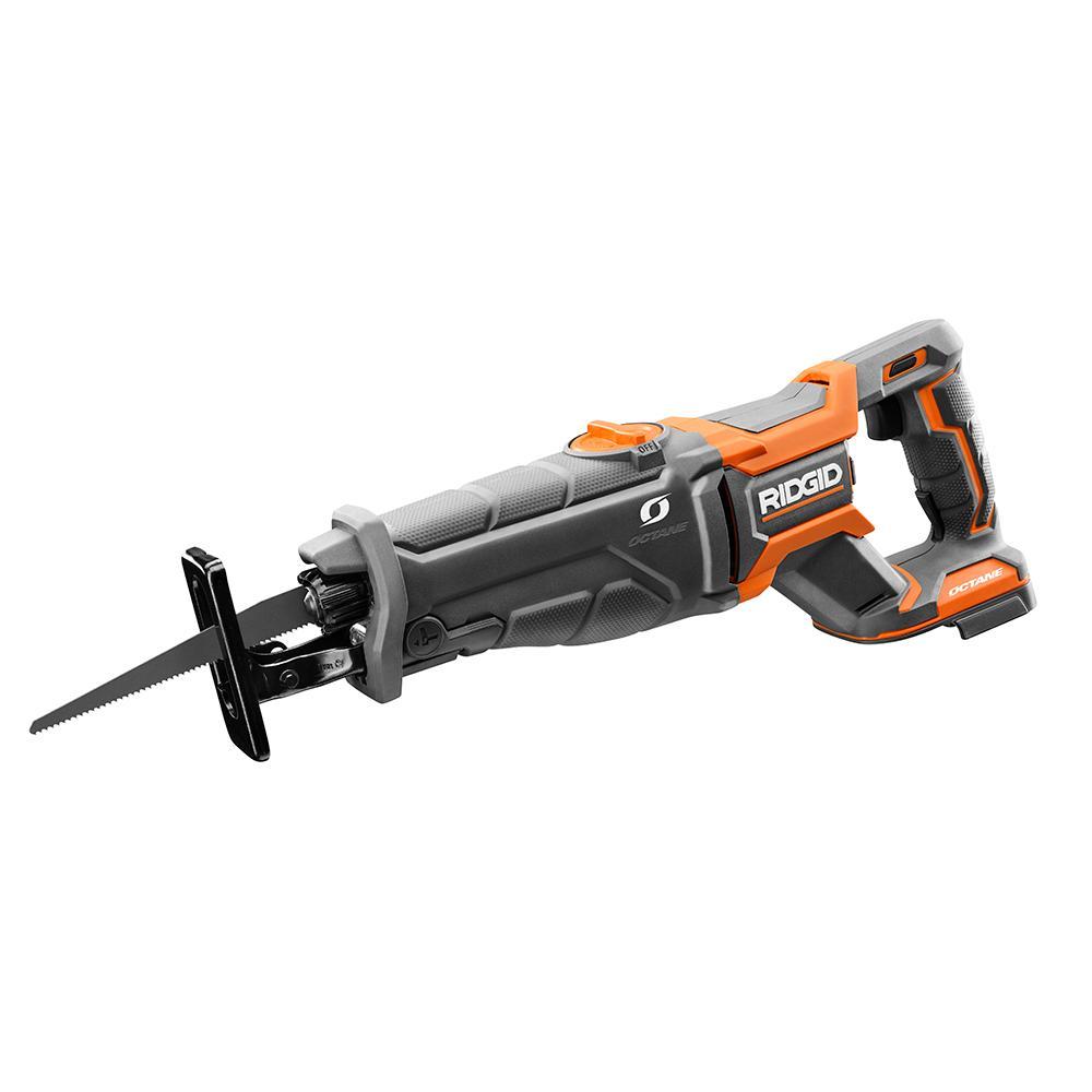 RIDGID OCTANE 18 Volt Brushless Reciprocating Saw