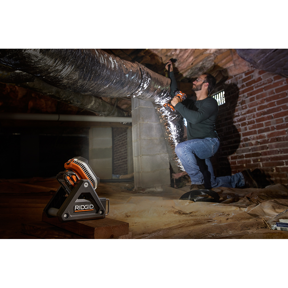RIDGID R8694620B GEN5X 18-Volt Flood Light *BRAND NEW*