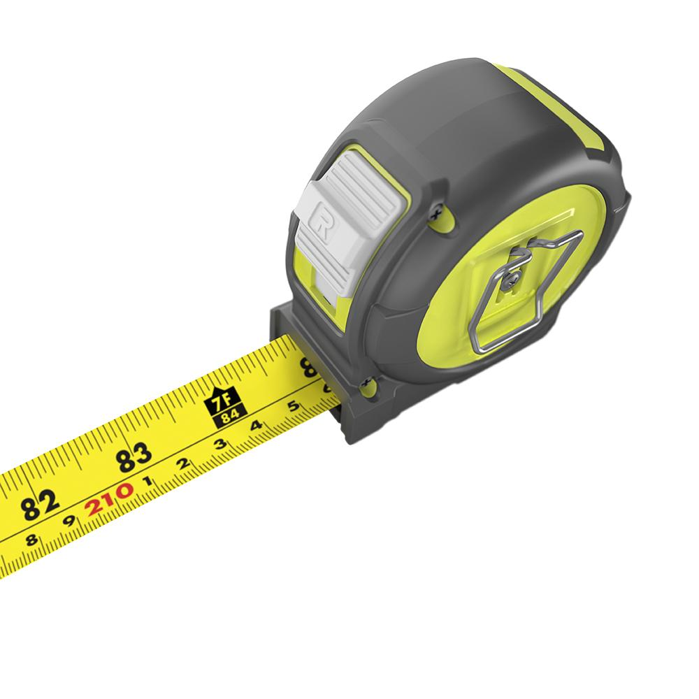 RYOBI 8 M/26 Ft. Tape Measure with Metric and English Scale