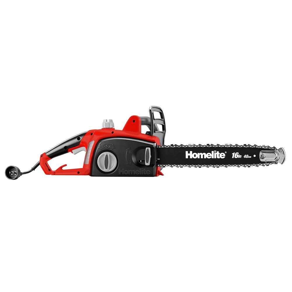 HOMELITE 12 Amp 16 In.  Chain Saw
