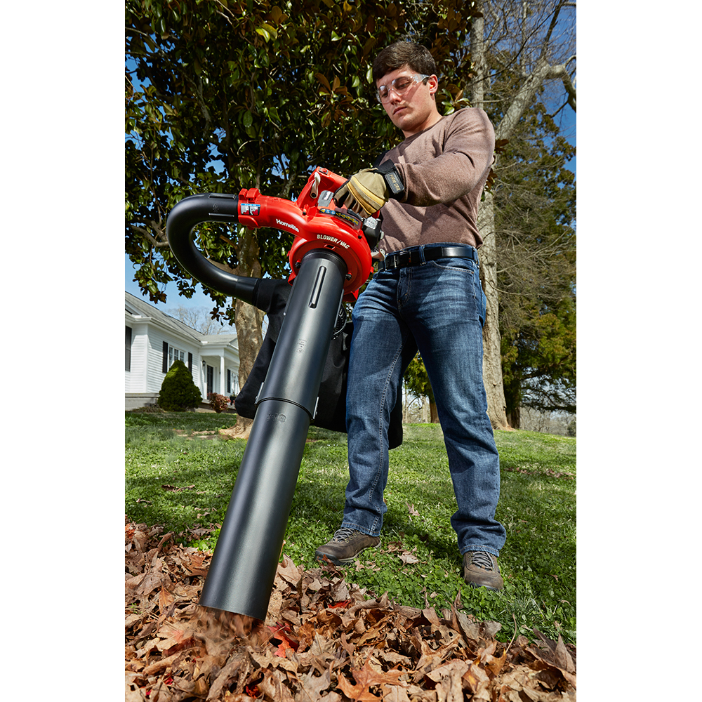 HOMELITE 26cc Gas 3-in-1 Handheld Blower with Variable Speed