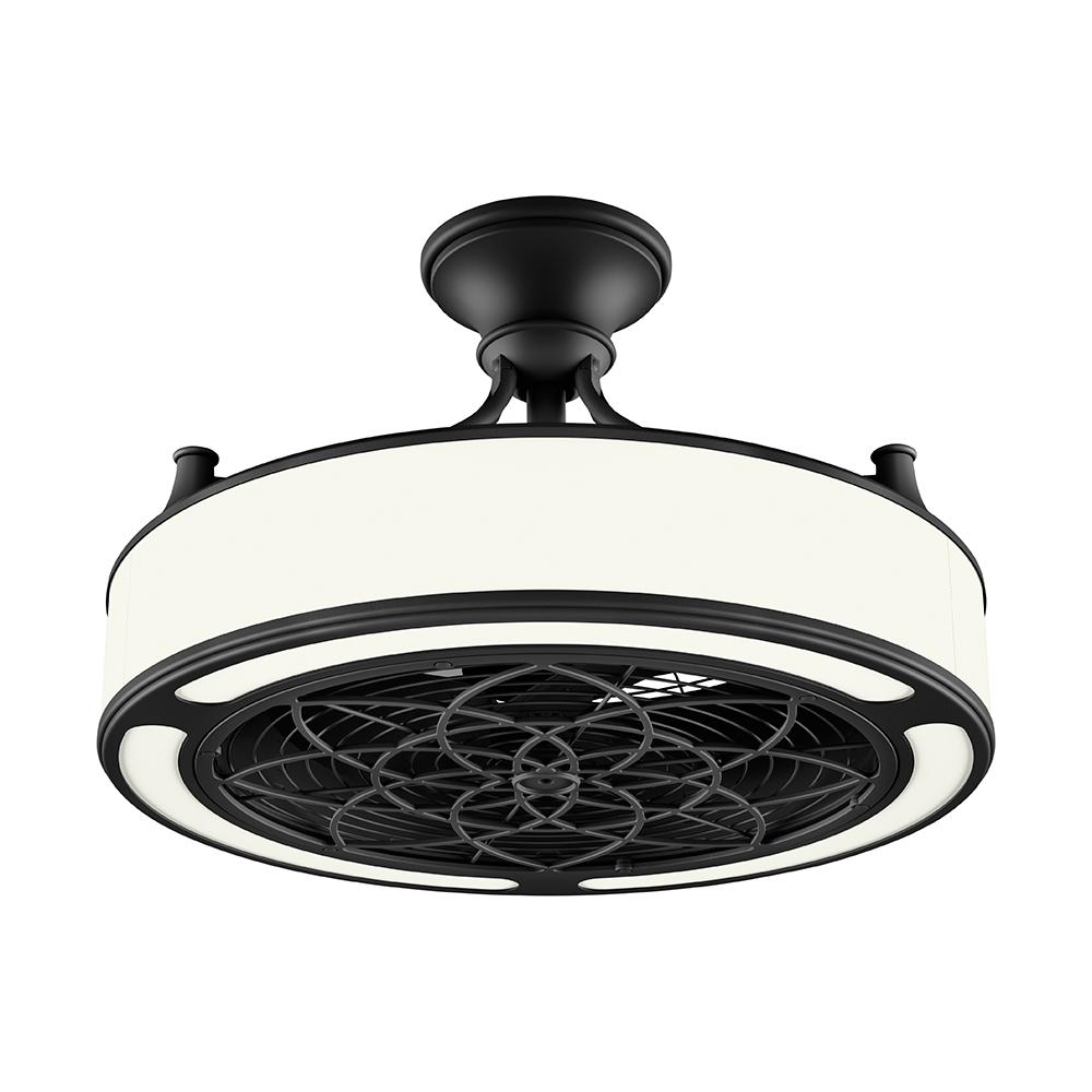 STILE Anderson 22 In. LED Indoor/Outdoor Black Ceiling Fan