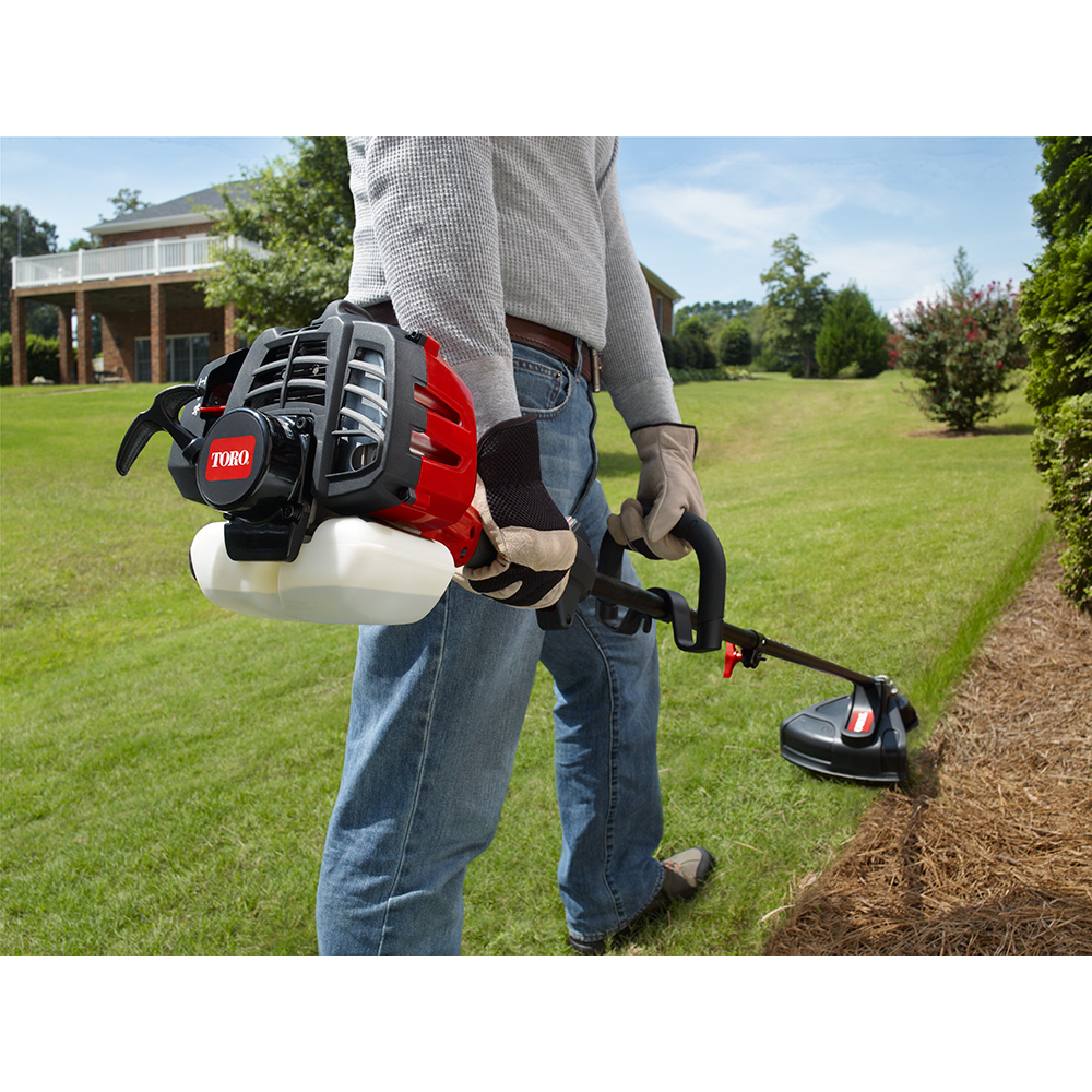HOMELITE 2-Cycle 24.4cc Straight Shaft Gas String Trimmer