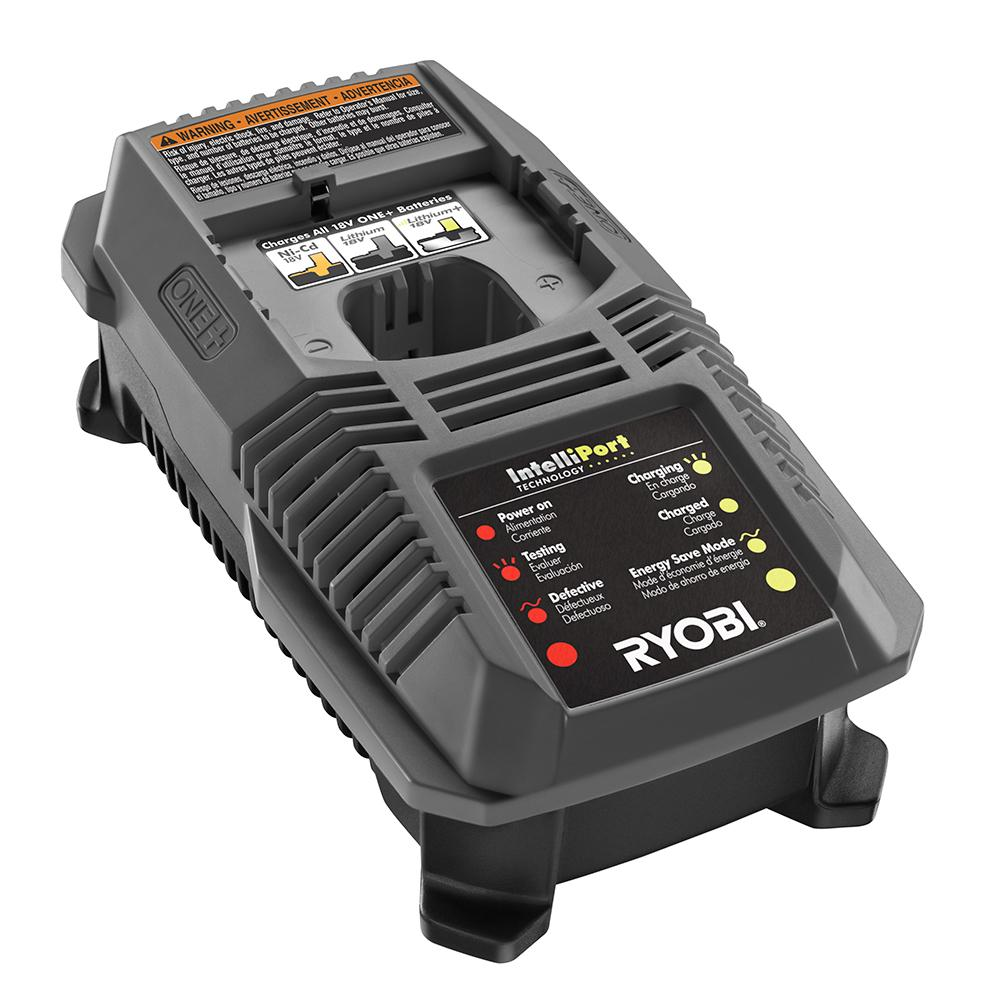 RYOBI ONE+ 18 Volt Dual Chemistry 1 Hour Charger