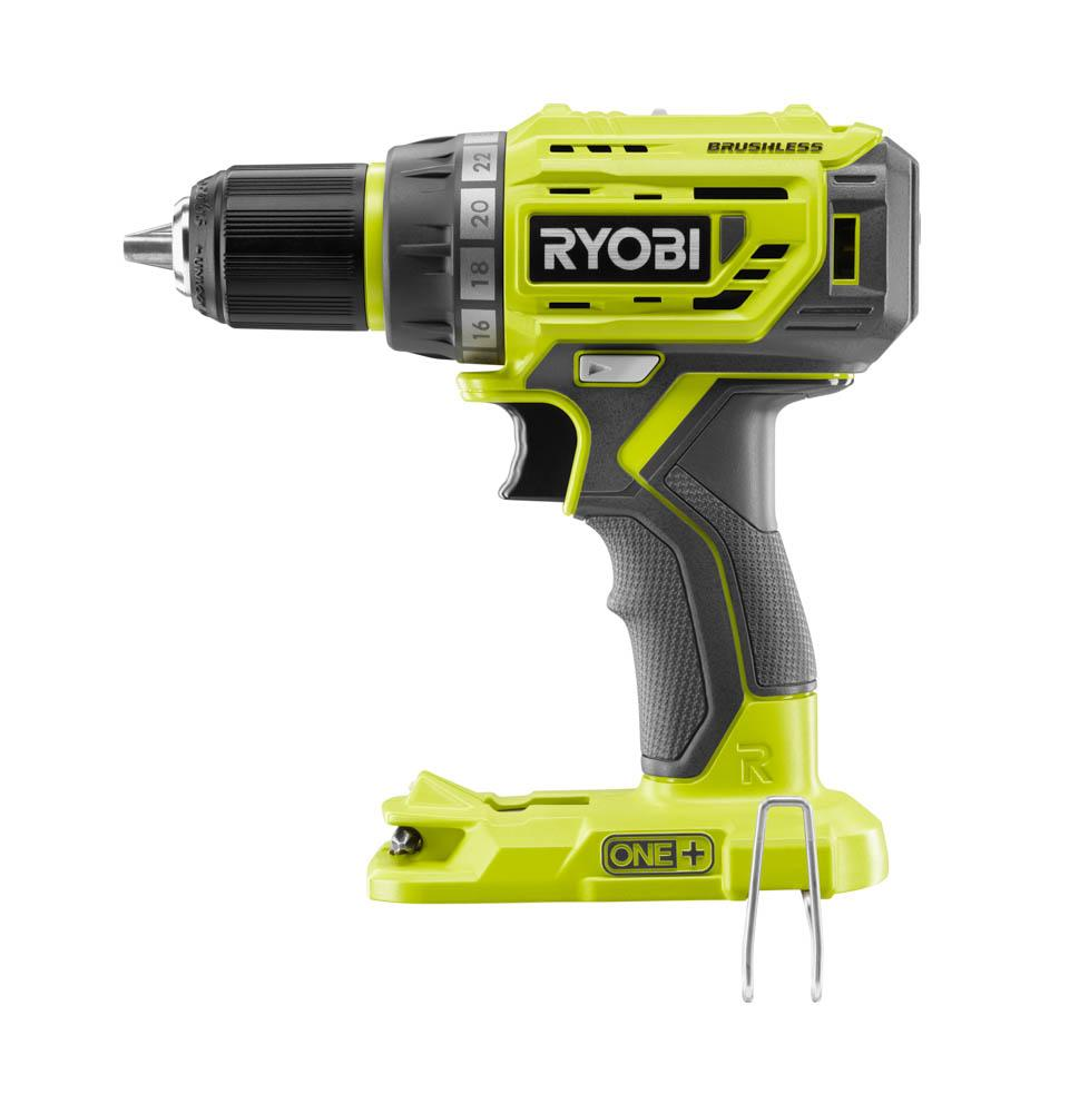 RYOBI ONE+ 18 Volt Lithium-Ion Brushless 1/2 In. Drill Driver Kit