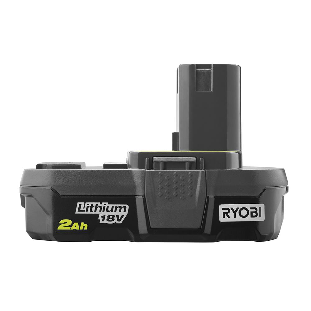 RYOBI ONE+ 2.0 Ah Compact Lithium-Ion Battery