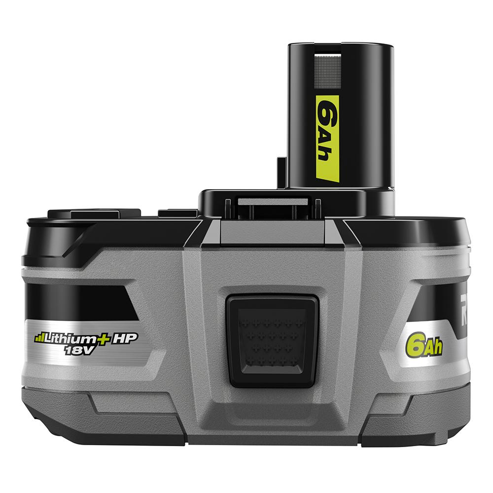 RYOBI ONE+ 18 Volt Lithium-Ion HP 6.0aH Battery Pack