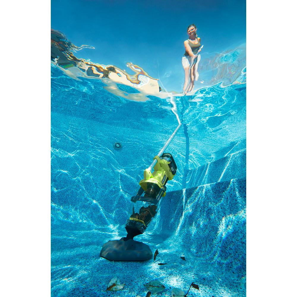 RYOBI ONE+ Lithium-Ion Underwater Stick Vacuum Kit