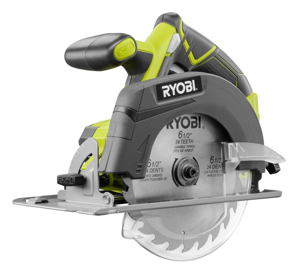 RYOBI ONE+ 18 Volt 6-1/2 in. Circular Saw