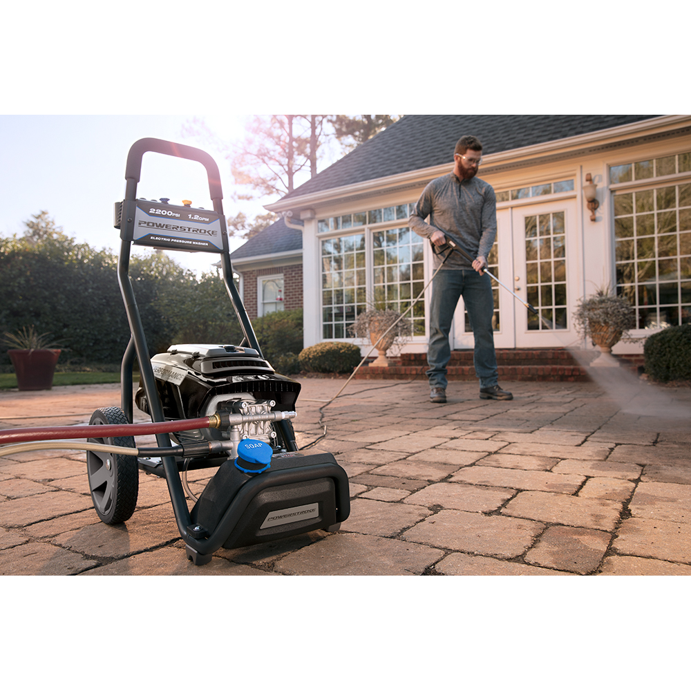 POWERSTROKE 2200 PSI 1.2 GPM Electric Pressure Washer