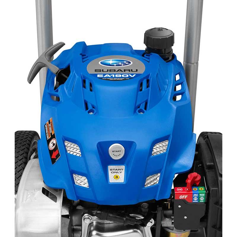 POWERSTROKE 3100 PSI Gas 2.4 GPM Subaru Motor Pressure Washer with Electric Start