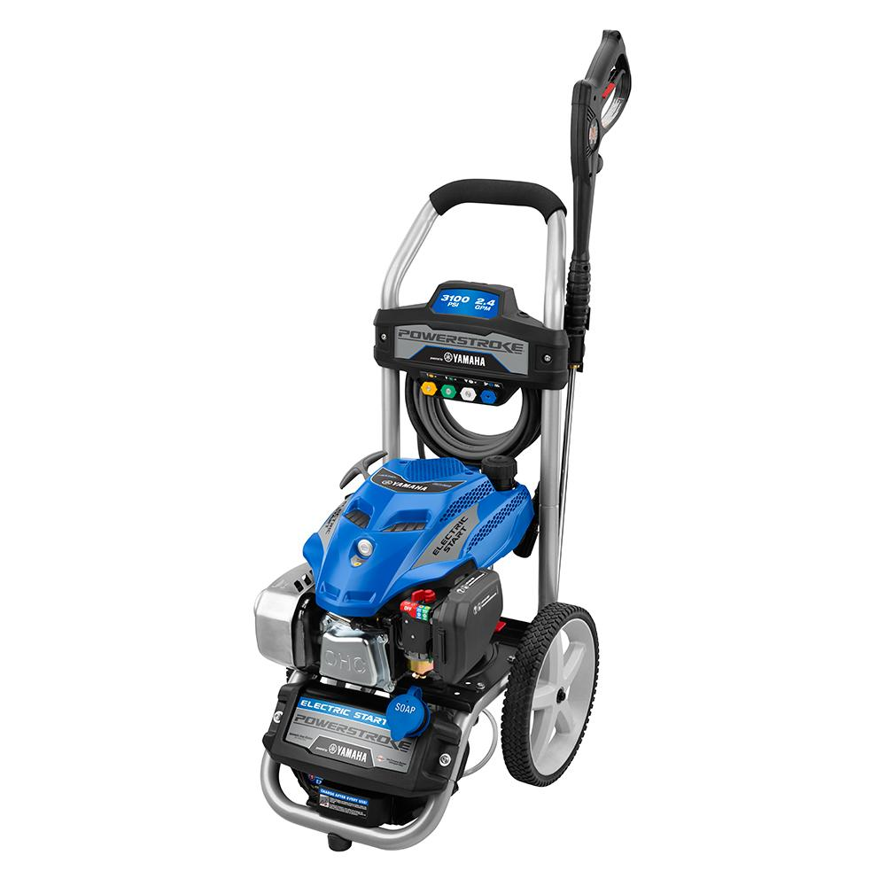 POWER STROKE 3100 PSI Yamaha Electric Start Pressure Washer ...