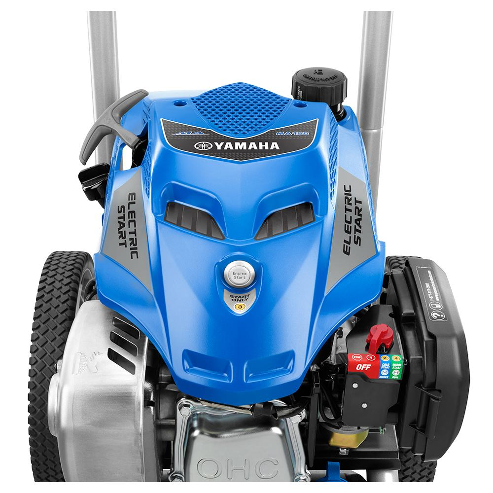 POWER STROKE 3100 PSI Yamaha Electric Start Pressure Washer