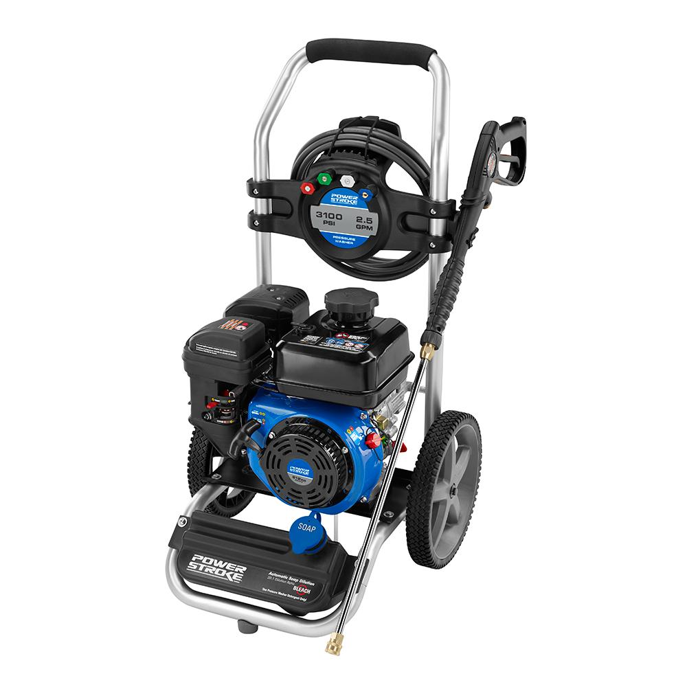 POWERSTROKE 3100 PSI Gas 2.5 GPM Pressure Washer