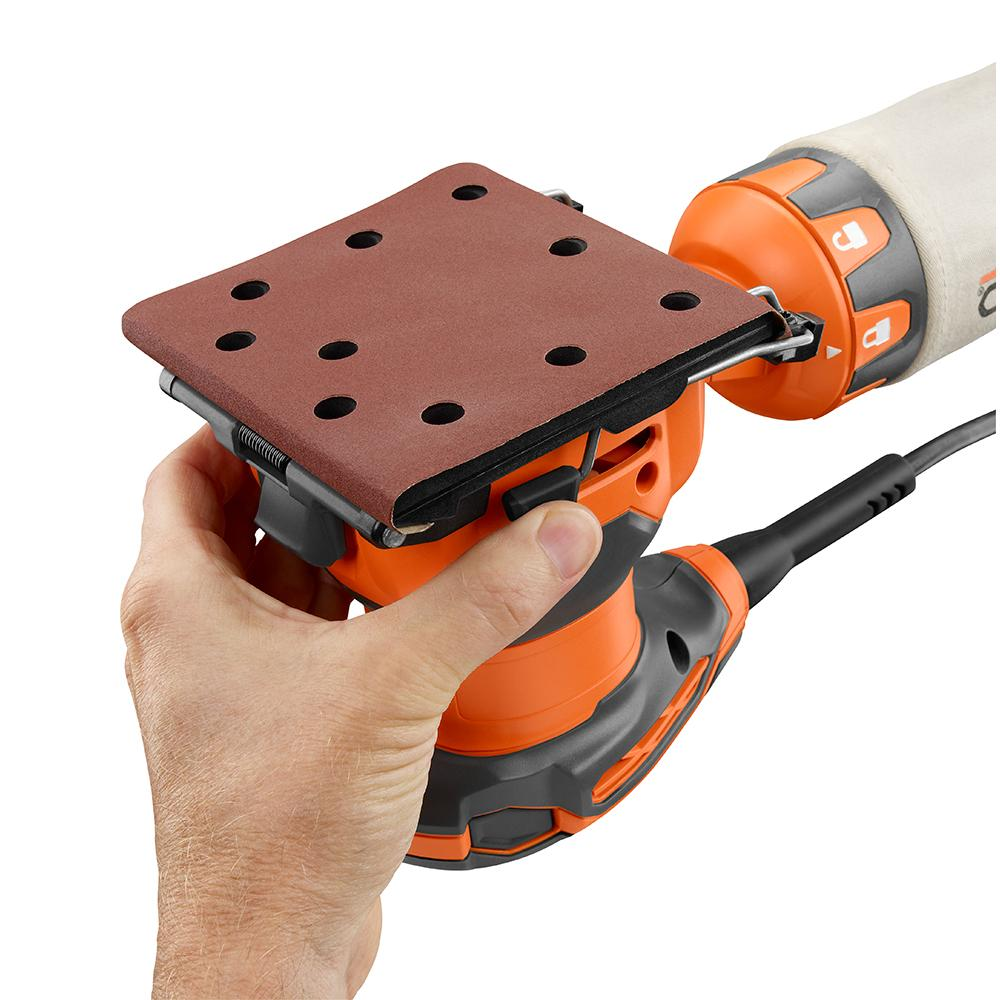RIDGID 1/4 In. Sheet Sander with AIRGUARD Technology