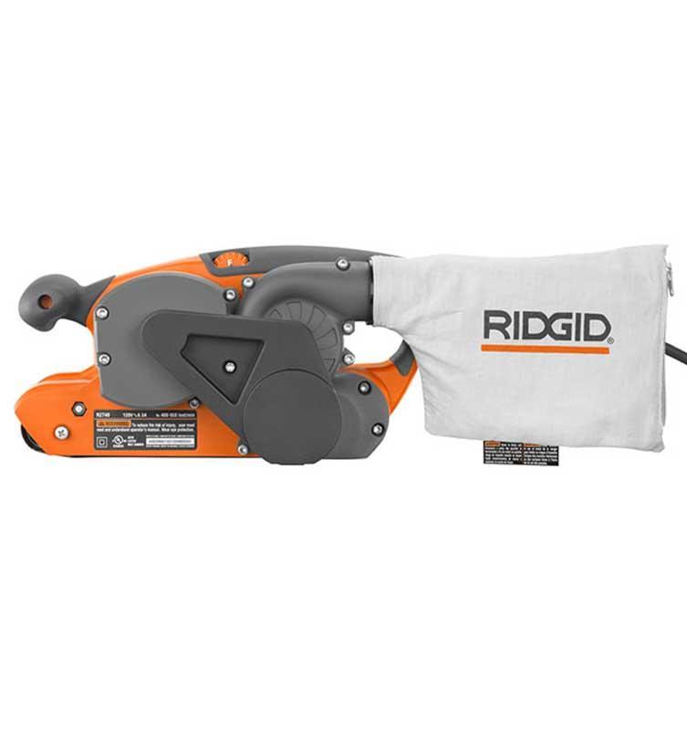 RIDGID 6.5 Amp 3 In. X 18 In. Electric Heavy Duty Variable Speed Belt Sander