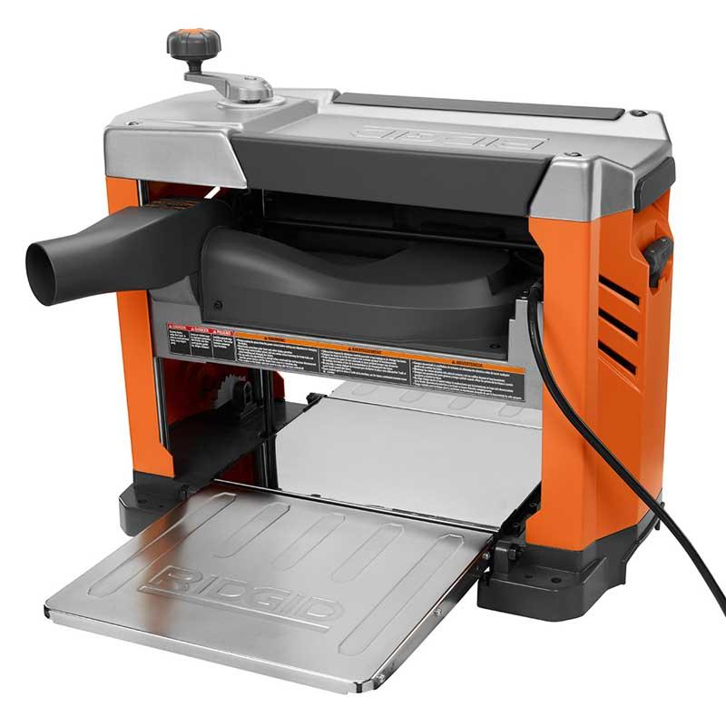 RIDGID 15 Amp Corded 13  In. Planer with 3-Blade Cutterhead