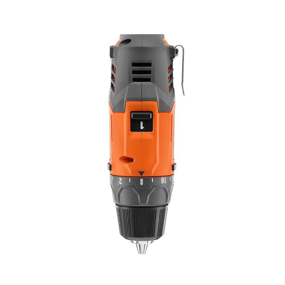 RIDGID 12 Volt Lithium-Ion 3/8 In. 2-Speed Drill Kit