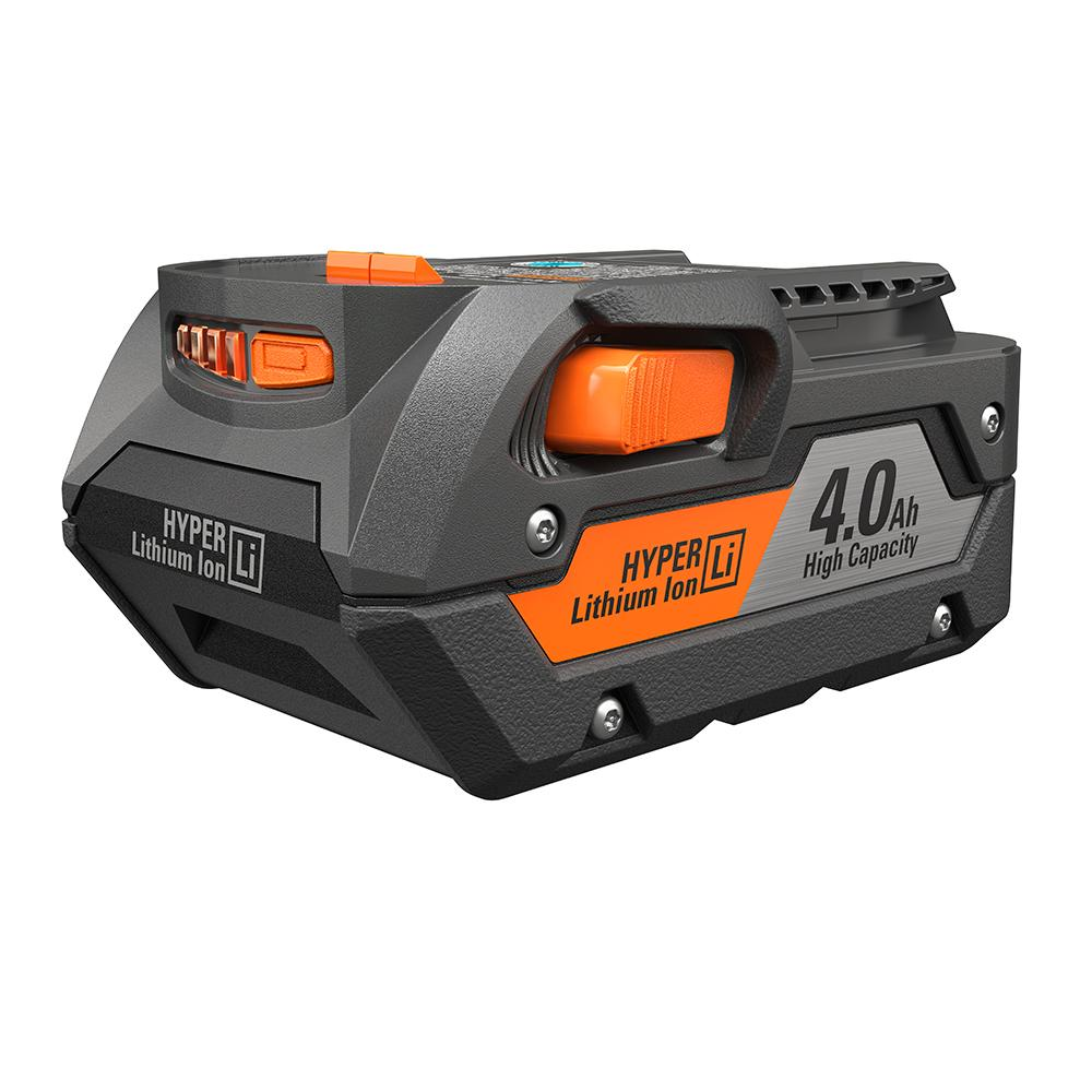 RIDGID 18 Volt Hyper Lithium-Ion High Capacity 4.0 Ah Battery Pack