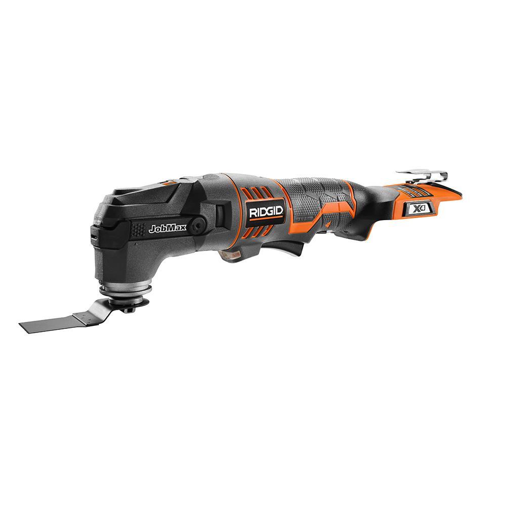 RIDGID JobMax 18 Volt Multi-Tool with Tool-Free Head