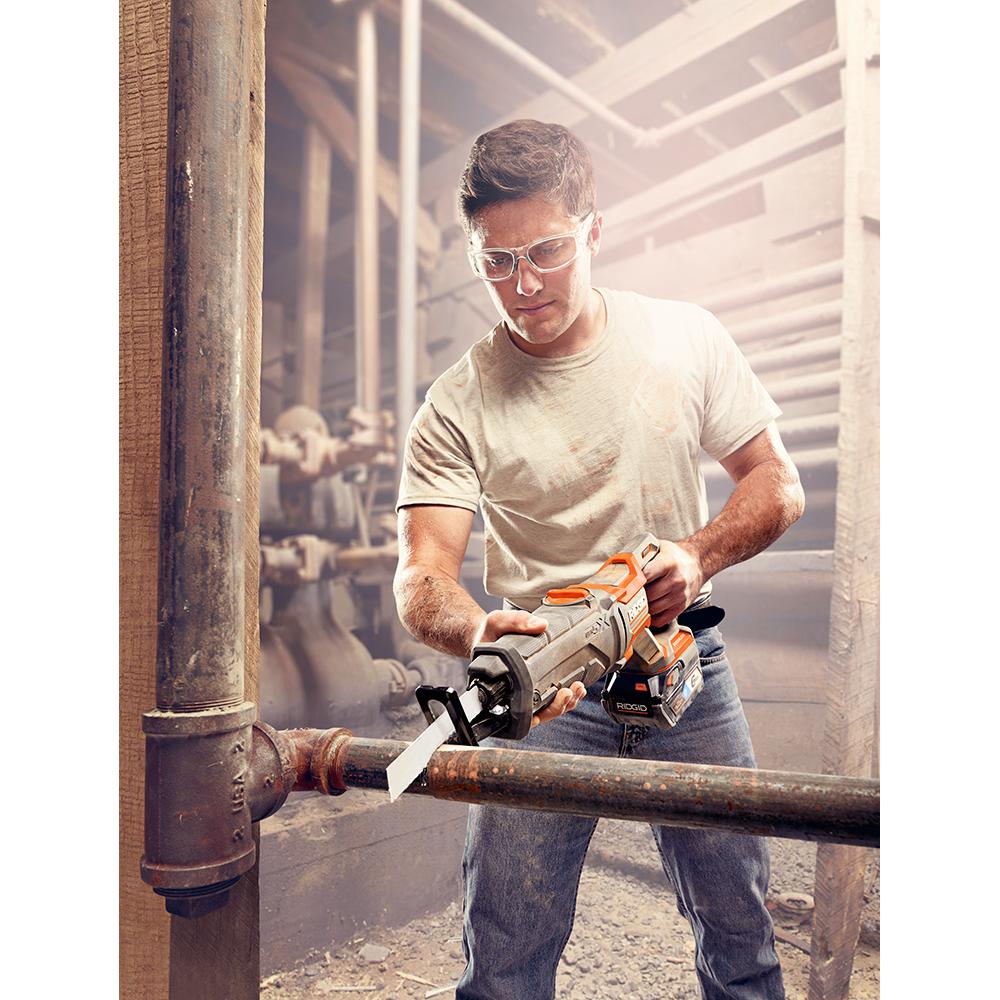 RIDGID 18 Volt OCTANE Brushless Reciprocating Saw