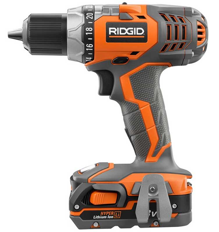 RIDGID 18 Volt Lithium-Ion Compact Drill & Impact Driver Combo Kit