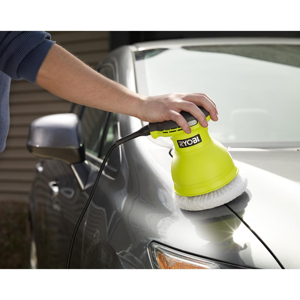 RYOBI 6 In. Buffer and Polisher
