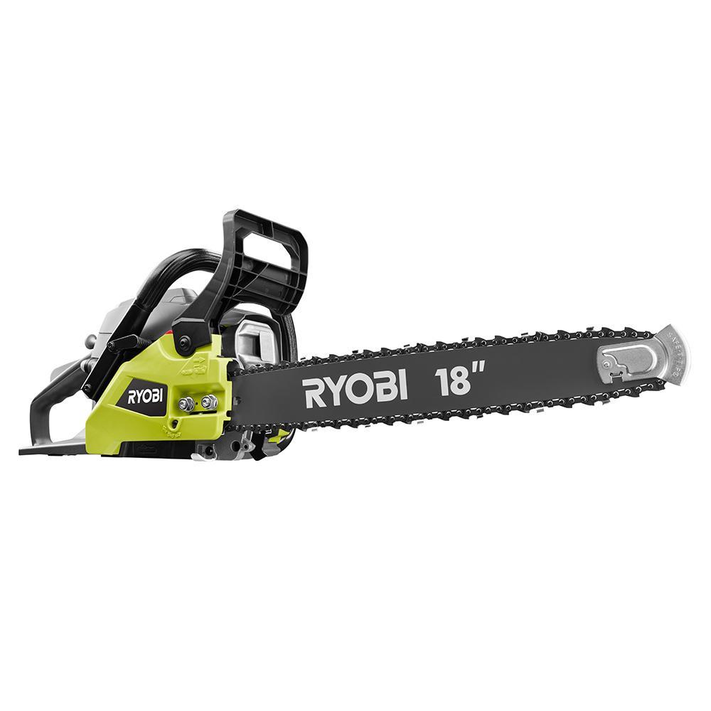 RYOBI 38cc 18 In. 2-Cycle Gas Chainsaw